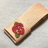 かなり手間取ってしまった平面薔薇(バラ)で「爪楊枝&綿棒入れ」