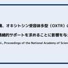 文化、苦痛、オキシトシン受容体多型(OXTR)の相互作用が情緒的サポートを求めることに影響を与える(Kim et al.,Proceedings of the National Academy of Sciences, 2010)