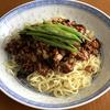 [レシピ]超簡単!肉より野菜が多めの甘辛ジャージャー麺