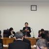 22日、12月議会に向けた政調会。台風被害者の救済のため現行制度の見直しと県独自の支援を