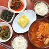 孔徳 シンプルに美味しいキムチチゲ@굴다리식당