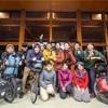 13人のサイクリストによる「目的のない旅展」のイベントに参加してきました。