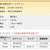 【10/7】東日本ハーフ10km、  個人結果
