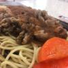 【肉】福岡出張で食べるB級グルメ ビーフバター焼き【福岡】