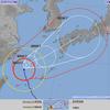 2017年 台風18号 - 9/14時点で想定される影響