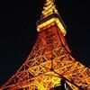 東京タワーの夜景とライトアップ!新宿御苑周辺散策!