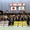 平成29年度,鶴田中学校,元気にスタートしています