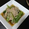 野菜蒸し、小松菜えのきおひたし、豚汁