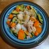 鶏肉と野菜のにんにくバター醤油炒め