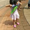 噴水で遊ぶ子供たち(平凡すぎる日曜日☆)