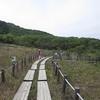 葦毛湿原と座談山