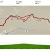 晩秋の白兀山へ:午後からの山登りは