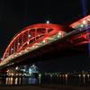 神戸夜景の定番、神戸大橋