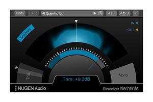 NUGEN AUDIO、サウンドの広がりを自由にコントロールするプラグインStereoizer Elementsをリリース