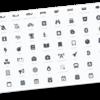 便利なフリーアイコン: Font Awesome を導入。