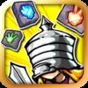 オフラインでも遊べるパズル+RPGゲーム - ダンジョンブロック:少女 騎士を救!