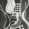 【銅版画】窓の光