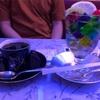 喫茶ソワレ(京都) ~青色の照明に包まれながらキラキラ輝くゼリーポンチを~
