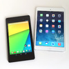 Retina iPad mini、iPad mini第1世代、Nexus7(2013)、iPhone5s、iPhone5のベンチマーク比較