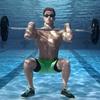 水中トレーニングの提案(適応を刺激するだけの十分な抵抗を与える一方で、関節への衝撃{着地時の衝撃と関節への応力}を軽減することが示されている)