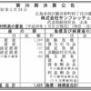株式会社サンフレッチェ広島 第26期決算公告