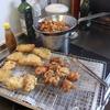 幸運な病のレシピ( 1998 )昼:新タマネギフライ、鶏唐揚、ポテトサラダ
