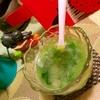 パスタの茹で汁で胡瓜とおかわかめの冷たいスープ