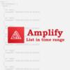 Amplify & AppSyncで時系列データを日付範囲でList取得する