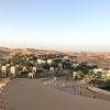 砂漠のリゾート地