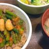 すき家の「W(ダブル)ニンニク牛丼」の巻
