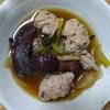 鶏団子きくらげ小松菜玉ねぎスープ