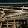 台所の天井下地の解体作業