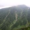 鳥海山とブルーラインの元滝(雨にたたられ編(^_^;)