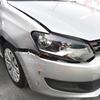 VW ポロ(バンパー・ヘッドランプ・フェンダー)ヘコミ・割れの修理料金比較と写真 初年度H26年、型式6RCBZ