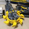 【組み立て中】レゴ テクニック「42055バケット掘削機」、6日目 ついに動くように。