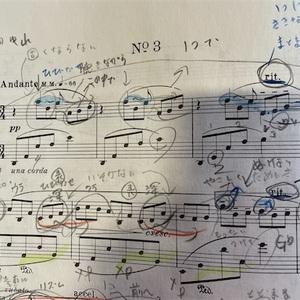 最近のピアノ練習はプレリュード。読み解いていく。