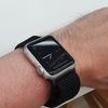 初代Apple Watch 38mmベルトをベルクロにしてみた。軽くて通気性が良いので暑い季節にお勧め?