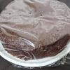 ダークチェリーのココアケーキ