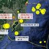 【地震】千葉県北西部でM4.1、埼玉県南部でM4.8最大震度3などの地震+過去の関東大地震の震源