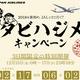 JAL「タビハジメキャンペーン」を3日間限定で開催、国内線で500eJALポイント