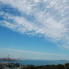 今日は暑かった。空も雲も特徴的だった