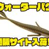 【バークレイ】マイクアイコネリ監修のフィネスワーム「ウォーターバグ」通販サイト入荷!