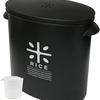 お米を袋のまま保管できるパール金属 米びつ 5kg ブラック RICE HB-3434