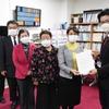 16日、福島日赤病院の院内感染を受けて市議団とともに市に、県議団は県に緊急申し入れ