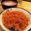 ●与野駅西口「つけ麺R&B」の大辛つけ麺からさまし