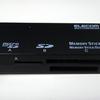 メモリカードリーダ(ELECOM MR-A002BK)