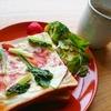 野菜をチョイ足し!小松菜ベーコンチーズトーストの作り方【食パンアレンジレシピ】