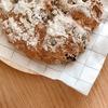 朝ご飯:ホットケーキミックスで作る、簡単カントリーブレッド☆レーズンに含まれる栄養、効果について