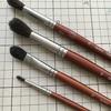 水彩画描くときの筆はどうする?