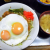 孤独のグルメ、シーズン1-10豊島区 東長崎のしょうが焼目玉丼